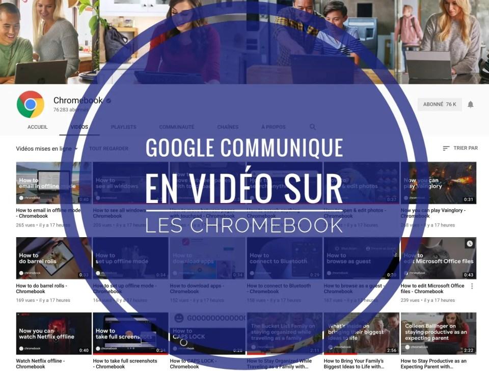 Chromebook: tout comprendre avec des vidéos amusantes