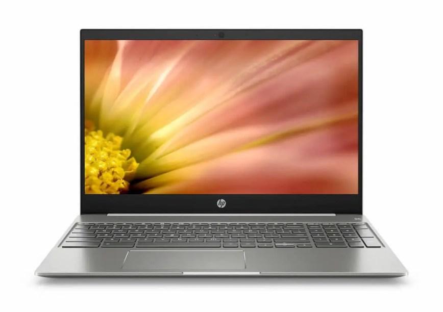 HP lance son premier chromebook de 15,6″ avec clavier numérique