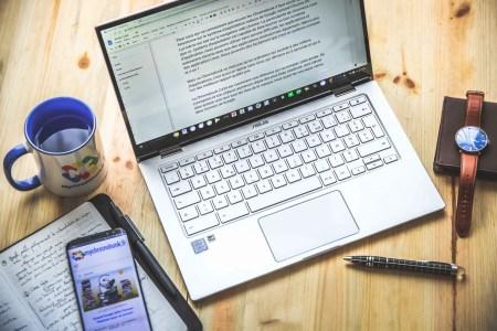 Les outils sur Chromebook pour devenir blogueur.