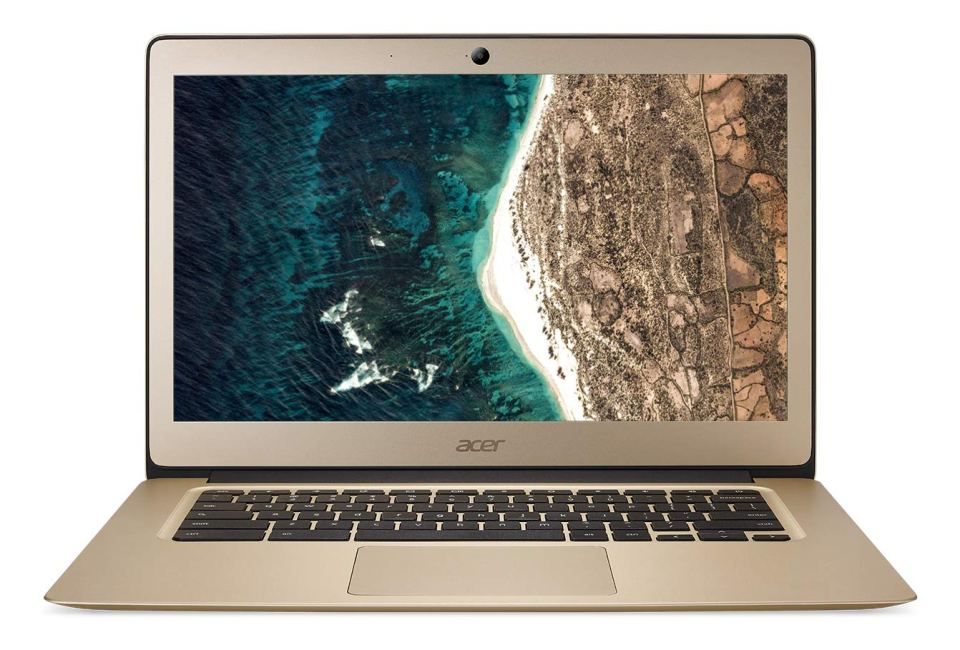 "Acer Chromebook CB3-431-C01X Ordinateur portable 14"" FHD Gold (Intel Celeron, 4 Go de RAM, 32 Go eMMC, Intel HD Graphics, OS Chrome)"