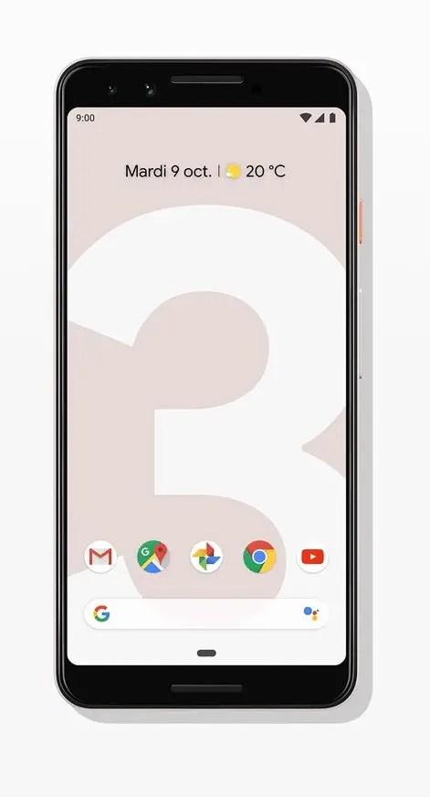 Smartphone Google Pixel 3 64 Go Subtilement rose