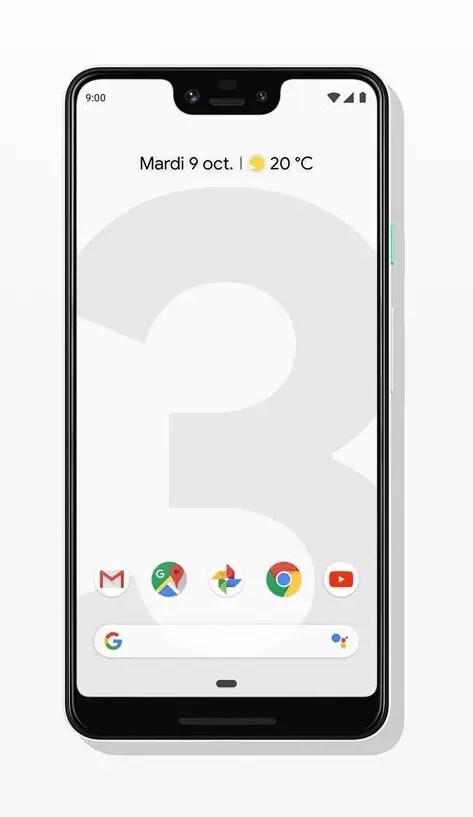 Media CardSmartphone Google Pixel 3 XL 128 Go Résolument blancMedia Card