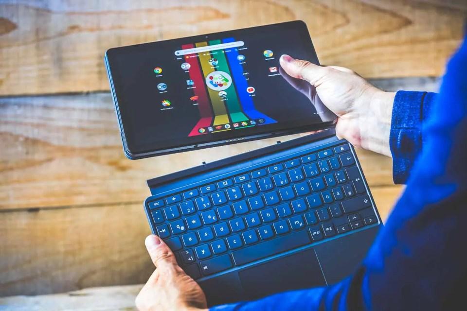 Chromebook Lenovo IdeaPad Duet est fourni avec un clavier détachable
