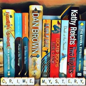 Crime & mystery book box