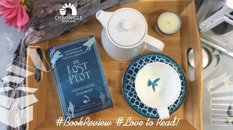 The Lost Plot by Genevieve Cogman banner