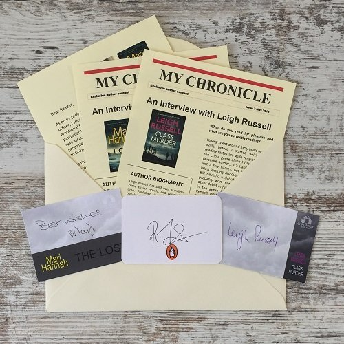 Crime and mystery author exclusives