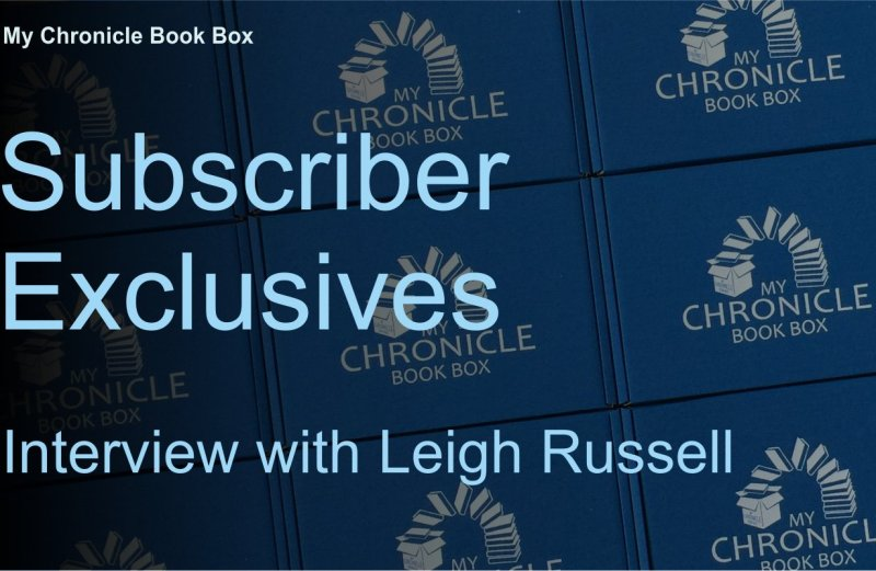 Subscriber Exclusives - Interview with Leigh Russell