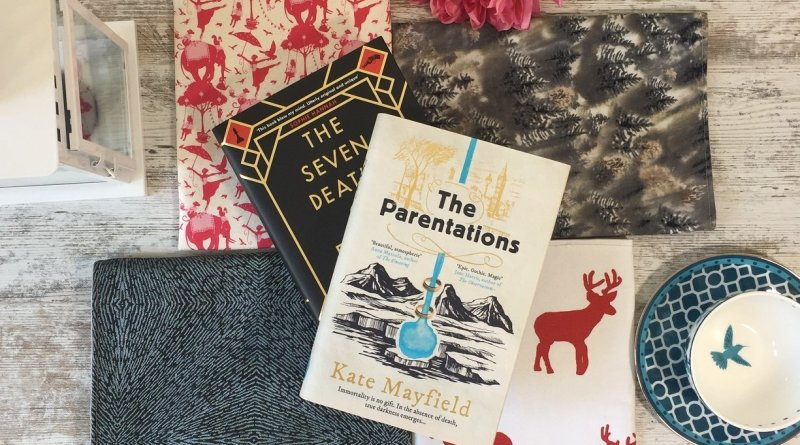 The Parentations and The Seven Deaths on book sleeves
