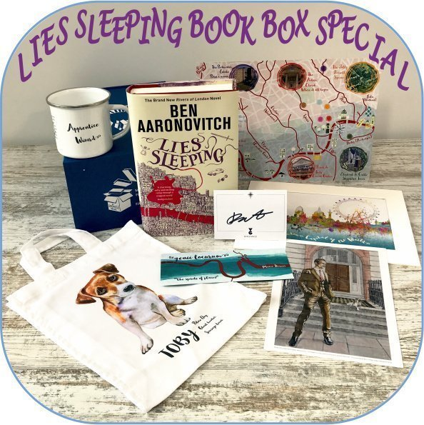 Lies Sleeping by Ben Aaronovitch Book Box Special