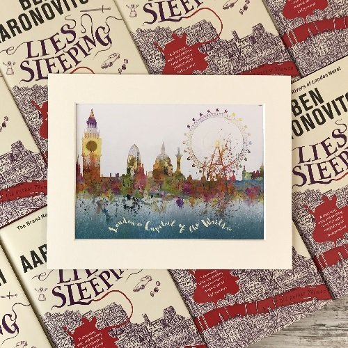 Rivers of London - Book box special - Lies Sleeping - Ben Aaronovitch special product image 5