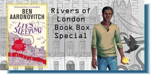 Lies Sleeping by Ben Aaronovitch Book Box Special Banner