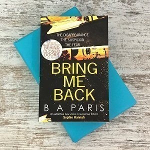 Book Cosy Special Edition Book Box (26) Bring Me Back by B.A Paris