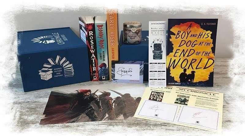 Book Subscription Box - Science Fiction Fantasy - November 2018 (2)