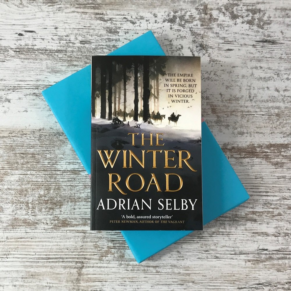 Book Subscription Box - SFF - February 2019 - The Winter Road - Adrian Selby