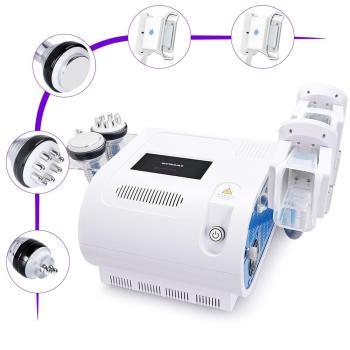 Double handles freezing RF cavitation fat dissolve machine