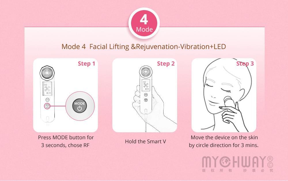 4 In1 Vibration RF Machine