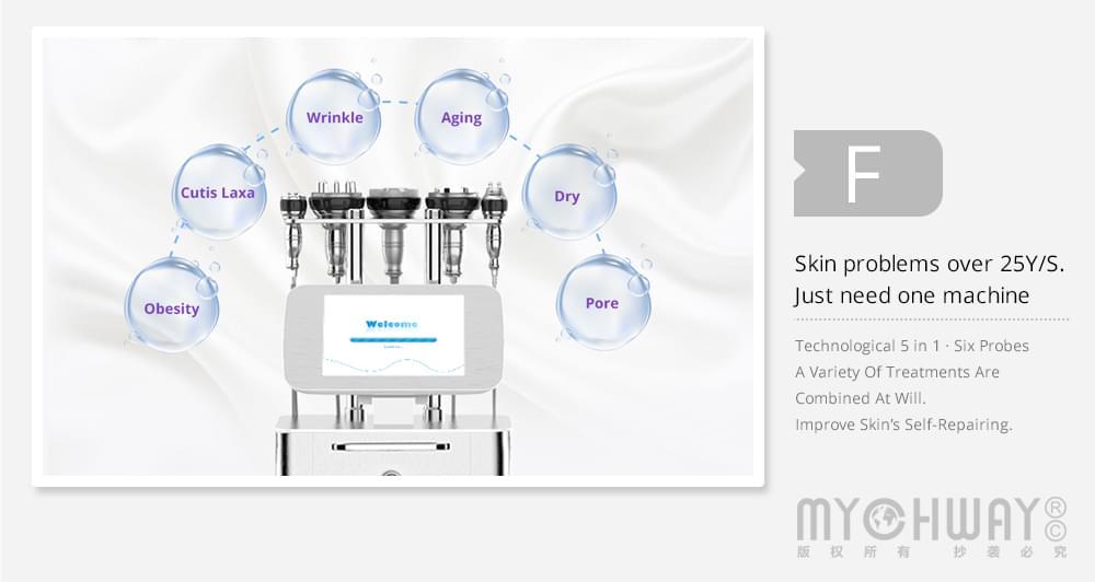 ultrasonic cavitation slimming machine