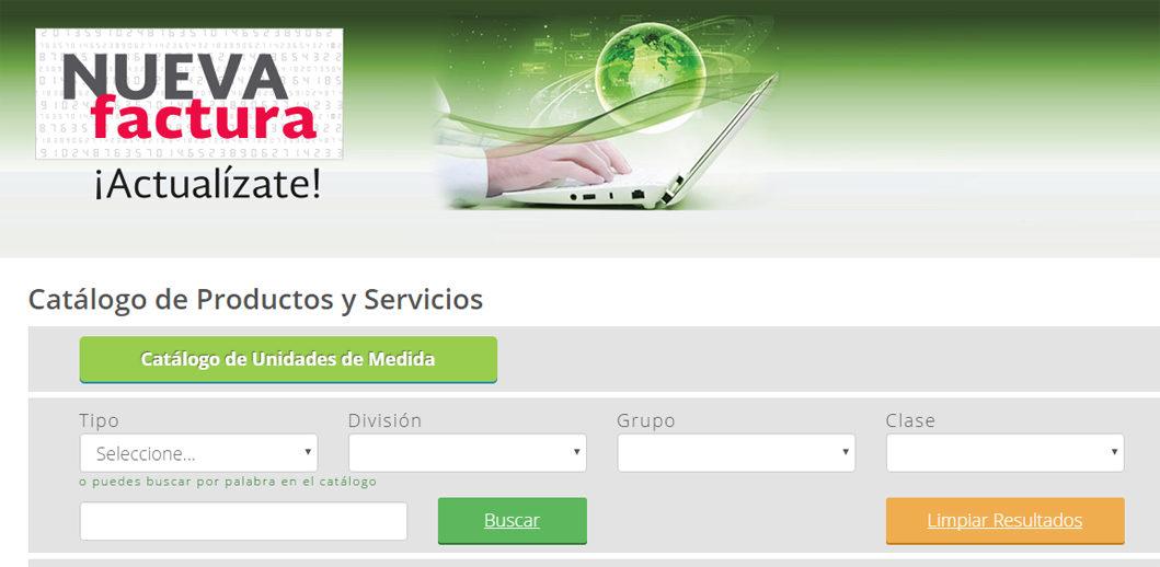 Actualiza el SAT la herramienta para ubicar claves de productos y servicios