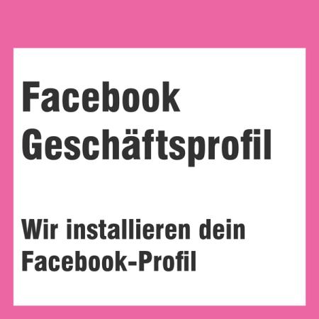 Facebook Profil einrichten