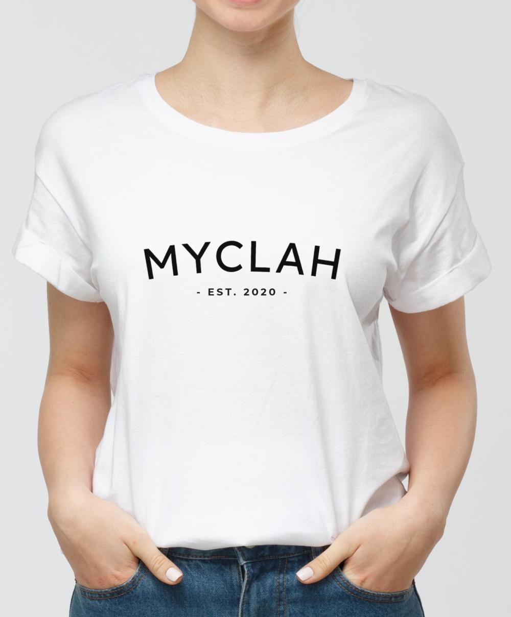 T-shirt logo Myclah