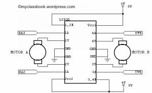 L293D DC Motor Driver IC  MyClassBook