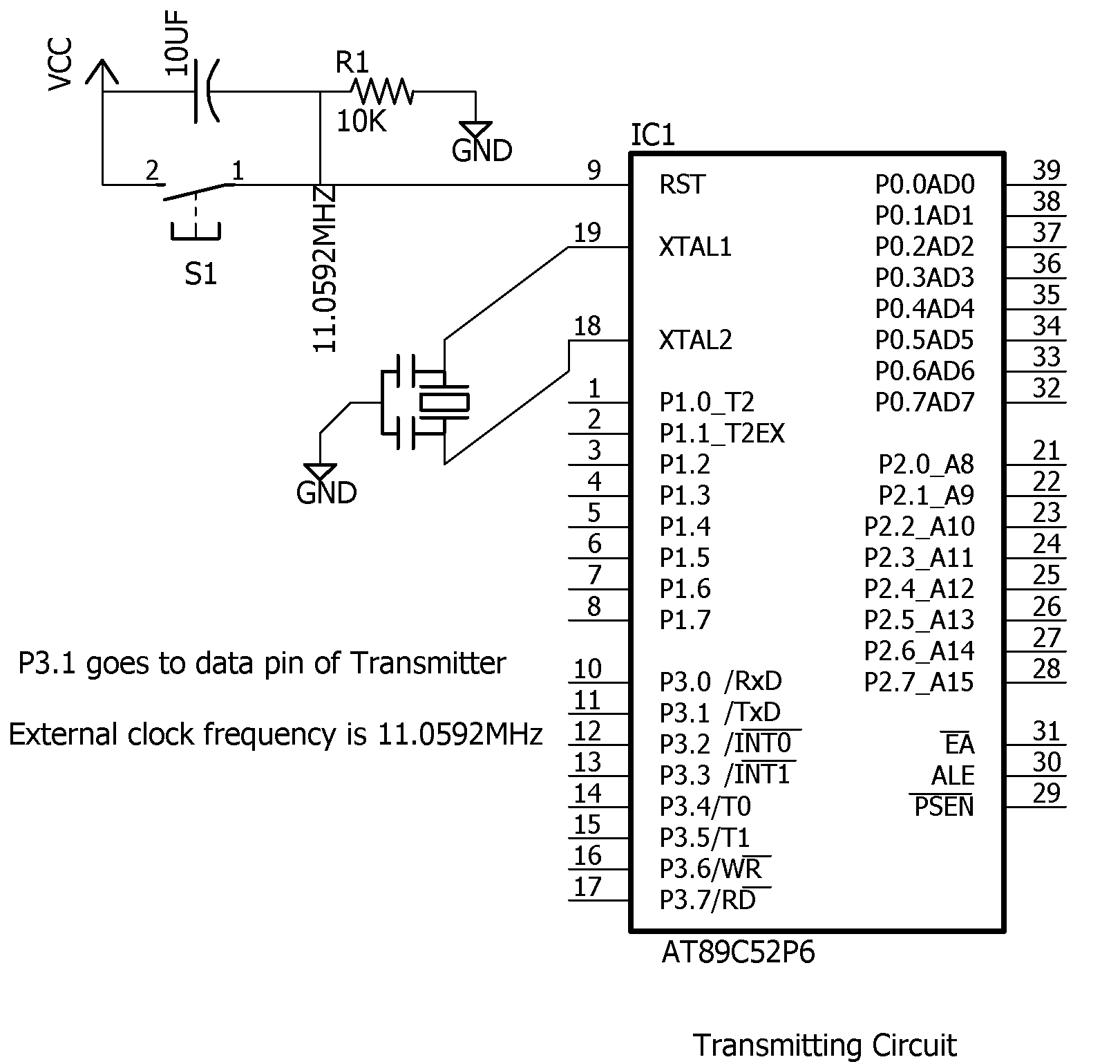 433mhz Rf Transmitter And Receiver Circuit | Wiring Diagram Database
