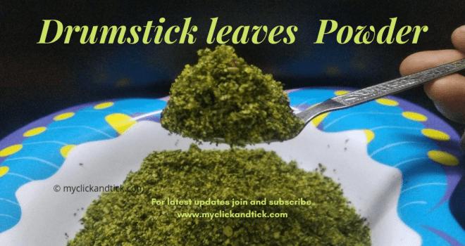 Instant Drumstick powder recipe