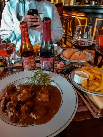 Flamish Ragout and Fries in Brussels Drug Opera Brussels Perfect 2 day Brussels itinerary