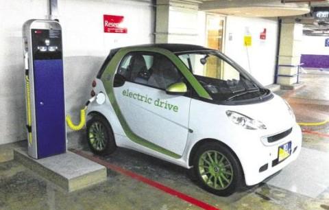 新加坡政府计划推广电动车使用