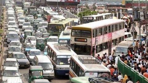 您到哪儿,哪儿交通就阻塞……