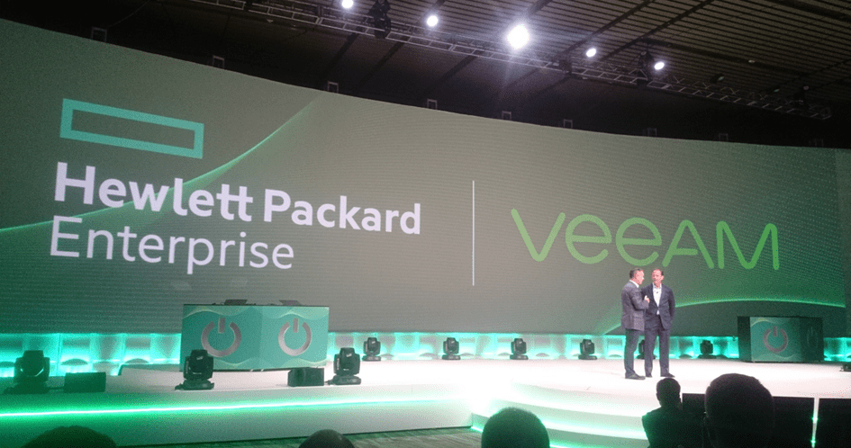 Veeam VeeamOn 2017 - General Session HPE