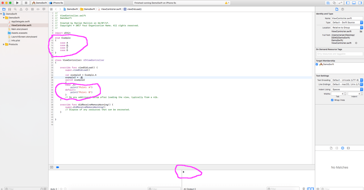 what is Swift Enumeration !