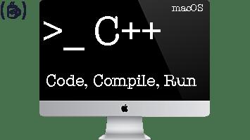 Run C++ on MAC, But How?