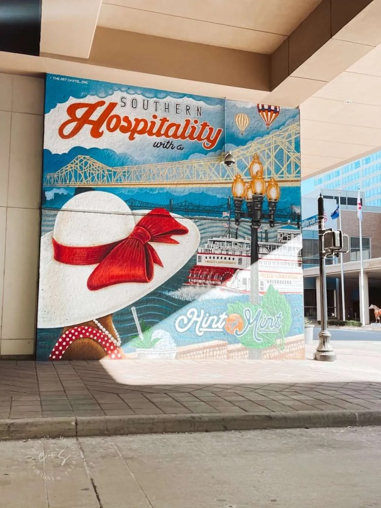 Southern Hospitality Mural Louisville