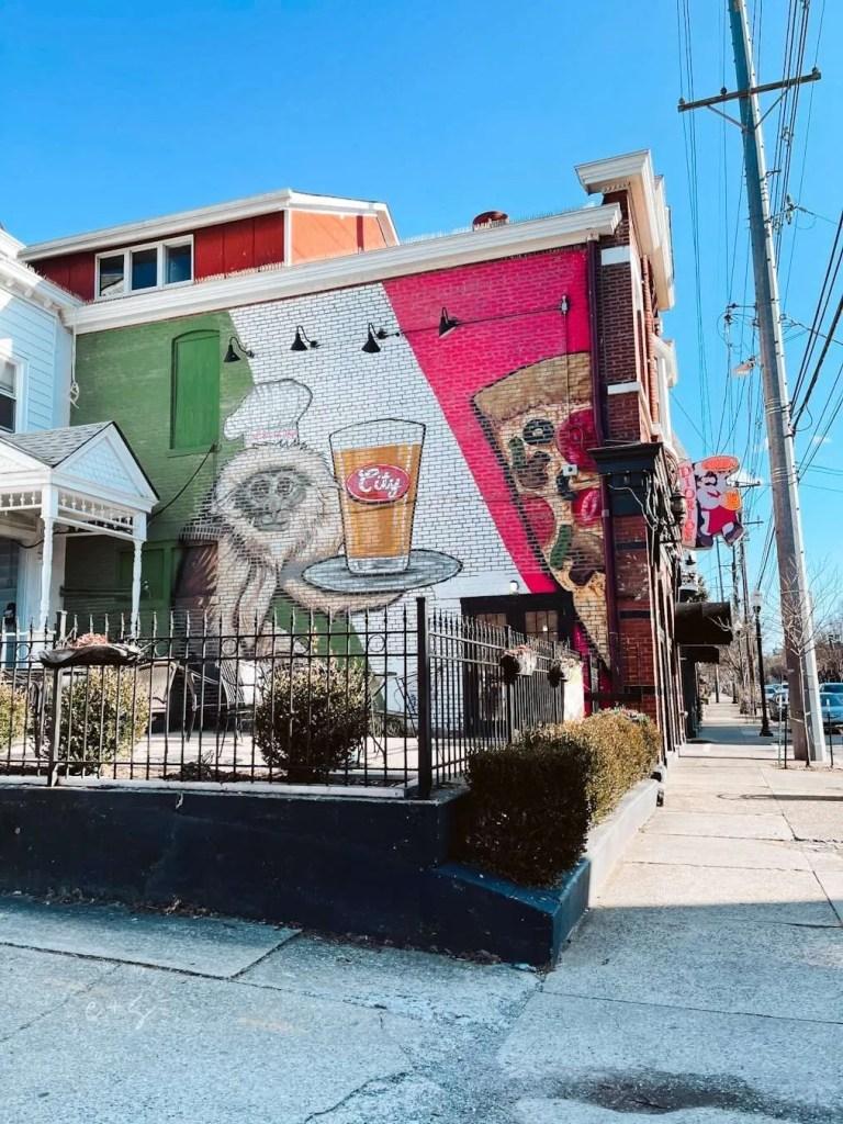 Diorios Beer Monkey Mural - Louisville Murals