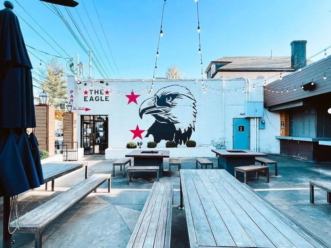 The Eagle Mural - Louisville Murals - Best Louisville Restaurant Patios