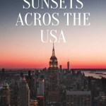 Prettiest Sunsets Across the USA