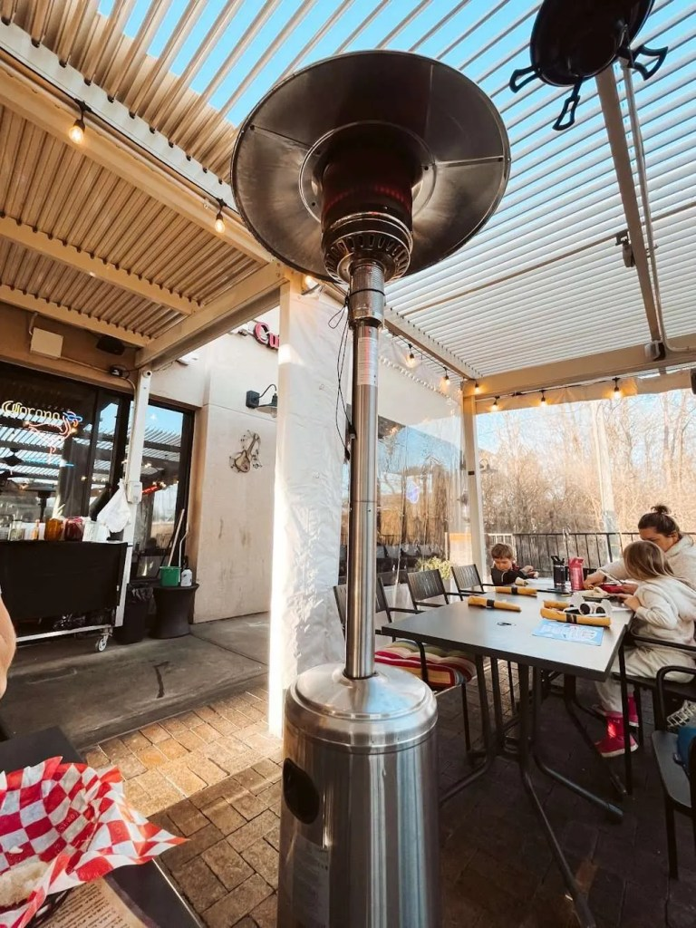 Mussel and Burger Bar Heated Patio in Louisville, patio Louisville, Ky- Louisville, KY, United States - Louisville Rooftop Bars - heated patios in louisville, Louisville's Best Patios, Louisville Outdoor Dining During Covid, Outdoor Seating Restaurants in Louisville, Best patio Restaurants in Louisville, Best Restaurants in Louisville