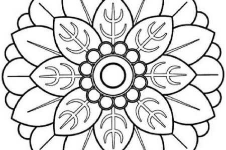 Flower Mandala Coloring Pages Photographs Amazon Mandalas Graphic For Girls Difficult