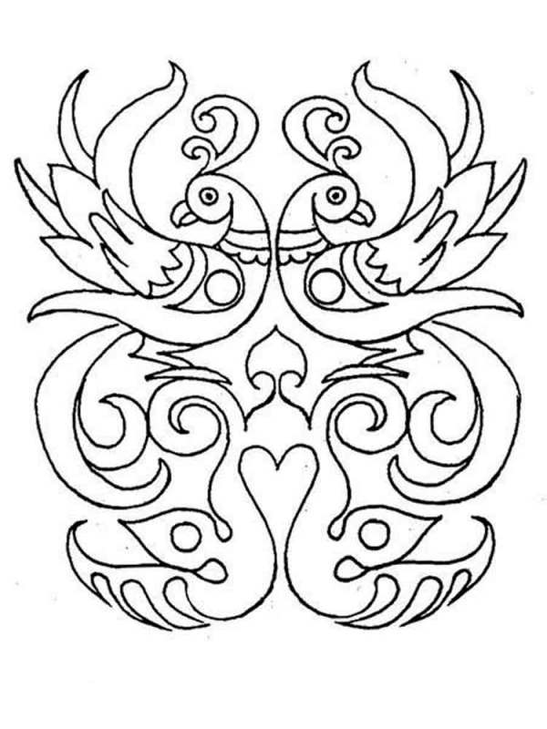 rangoli coloring pages # 27