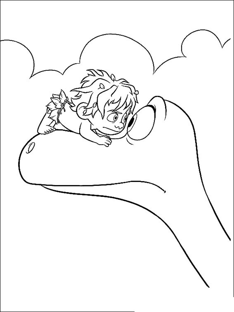 the good dinosaur coloring pages. download and print the