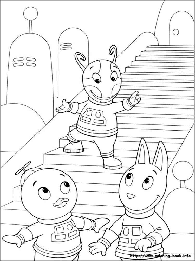 backyardigans coloring pages. free printable backyardigans