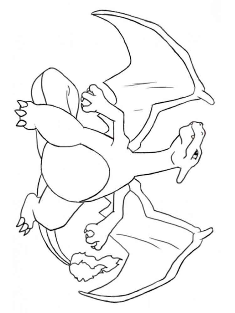 charizard coloring pages. free printable charizard