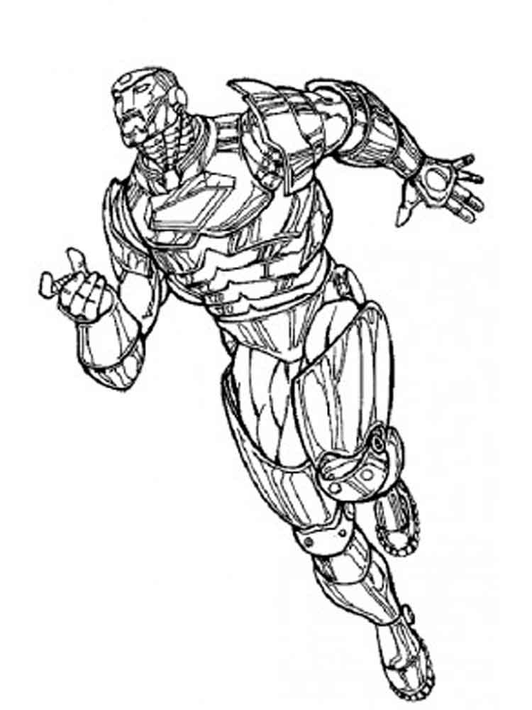 War Machine Coloring Pages Free Printable War Machine