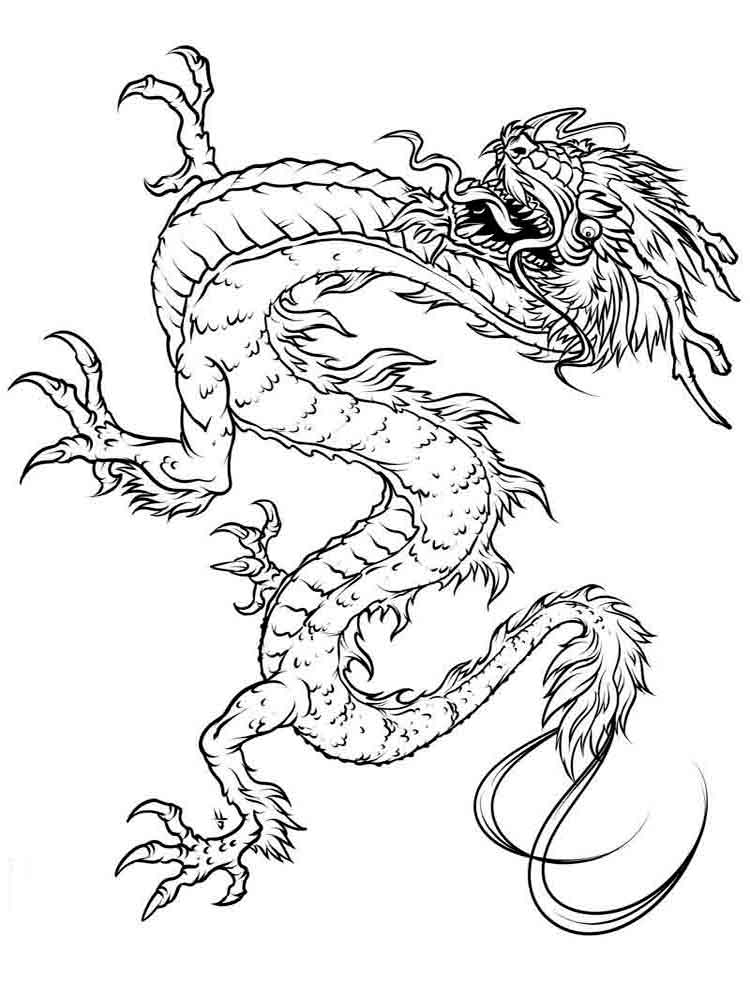 Dragons Coloring Pages Download And Print Dragons