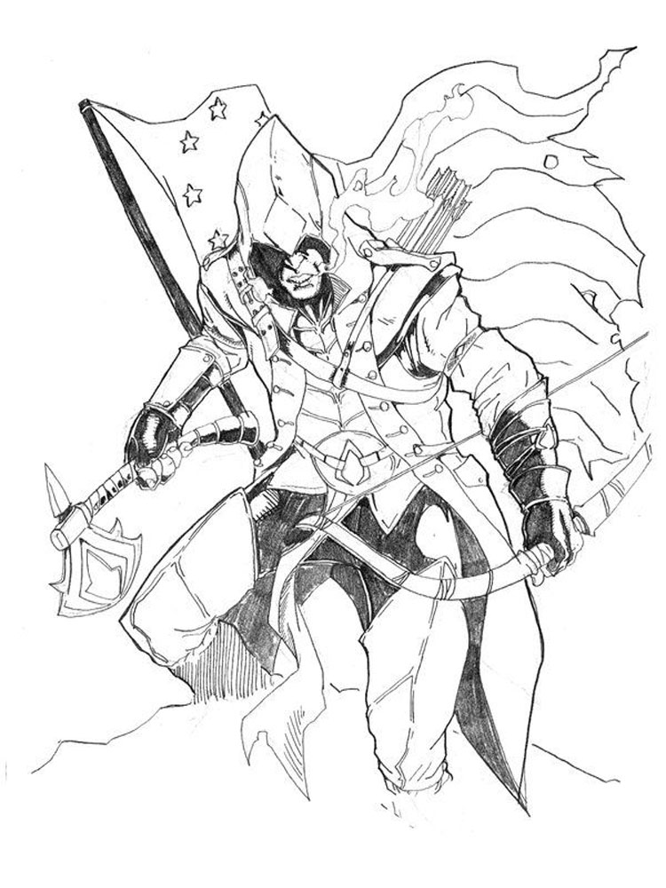 free assassin coloring pages. download and print assassin