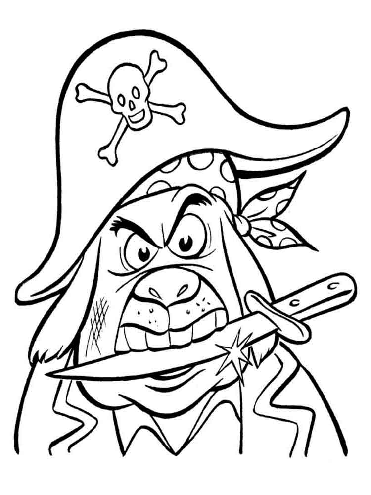 Pirates coloring pages download and print pirates, i love grandma coloring pages