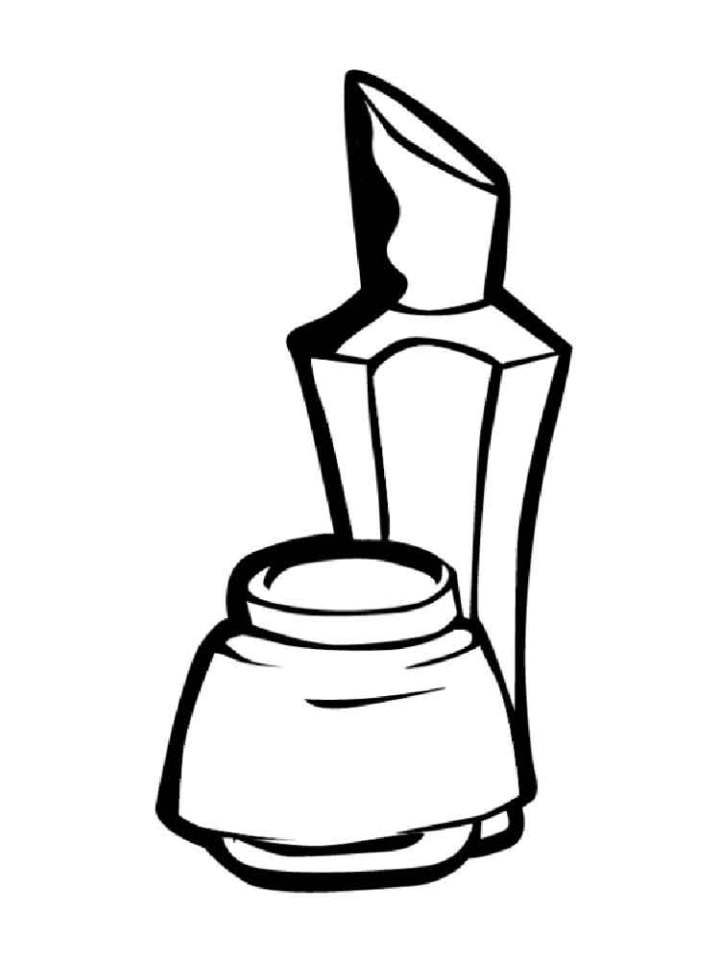 makeup coloring pages The World Of Make Up