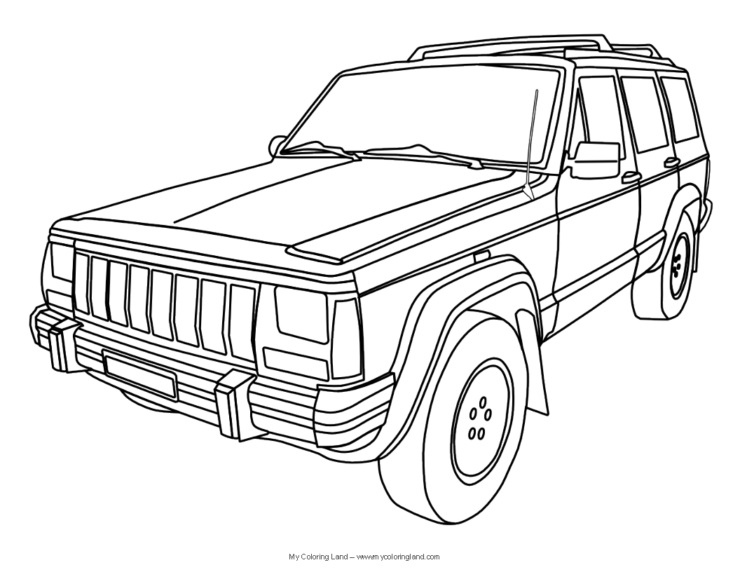 1000 images about jeep coloring on pinterest coloring pages