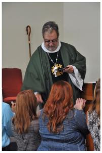 Patriarch Serving Communion